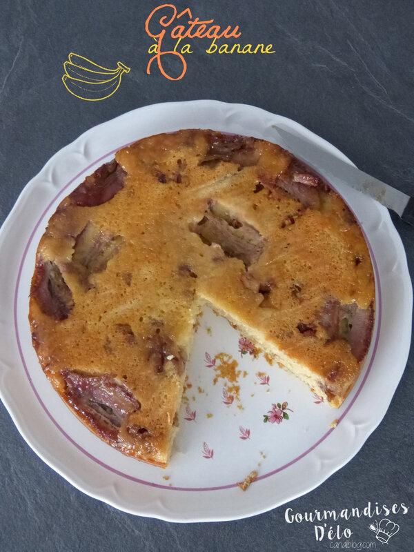 Gâteau à la banane (6)