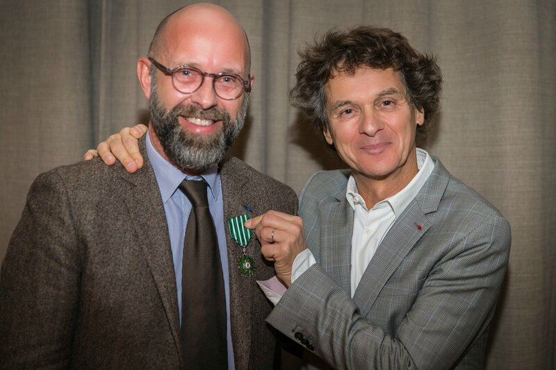 Frederic Fougerat et Guy Martin