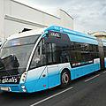 Solaris urbino 18 métrostyle autobus articulé hybride