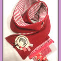 decembre 2010 commande echarpe rouge josephine