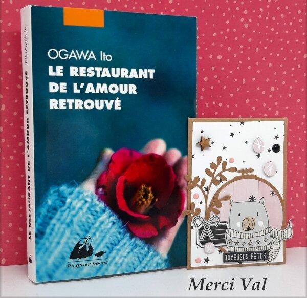 Carte de voeux et livre de Val Chastan - Janvier 2019