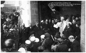 CH14 -1- Bénédiction - Inauguration du Bateau de sauvetage CV de Kerros a Primelin