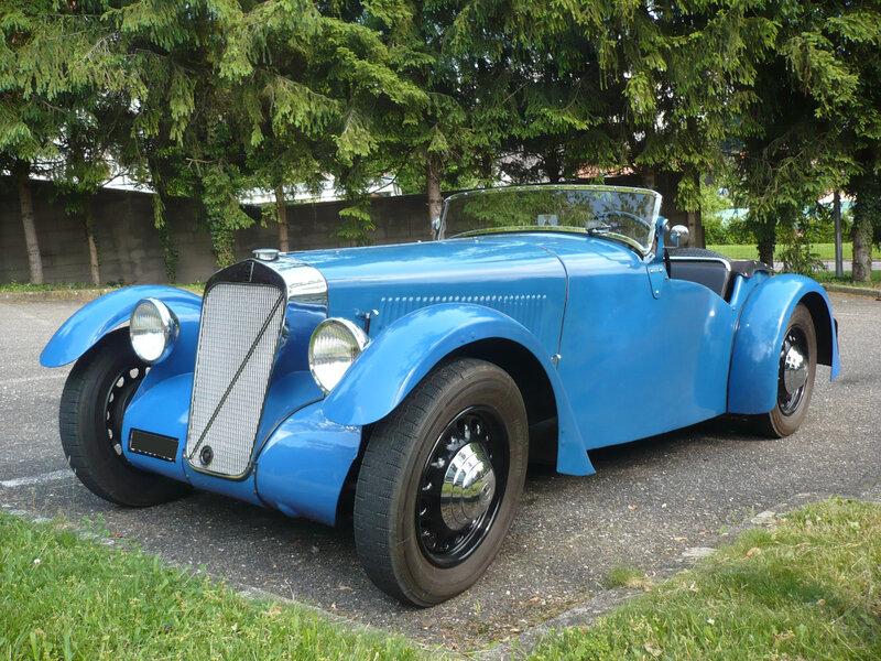 GEORGES IRAT type MDU roadster 1937 Klingenthal (1)