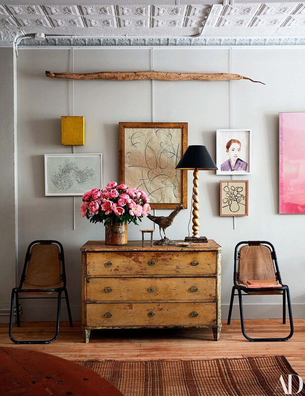 Vintage Eclectic Manhattan home of John Derian photos by Stephen Kent Johnson (1)