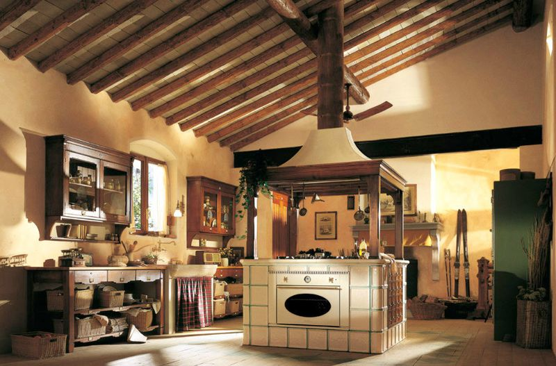 country-island-kitchen