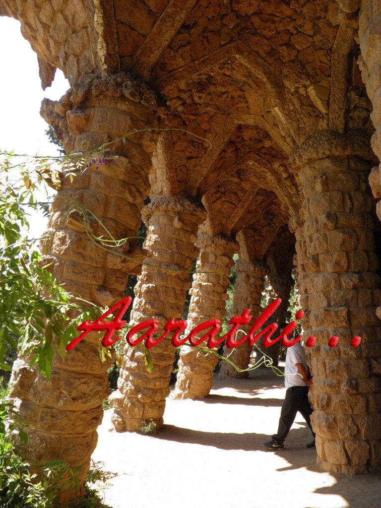 Rock Arches,Parc Güell , Barcelona.