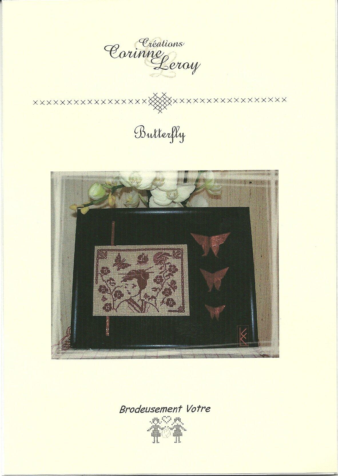 Butterfly Corinne Leroy