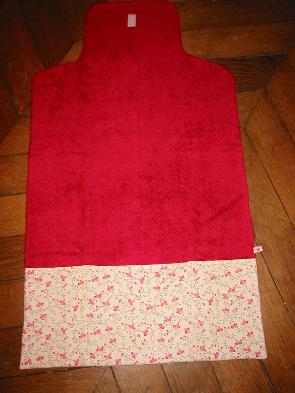 tapis à langer fleurs roses 3