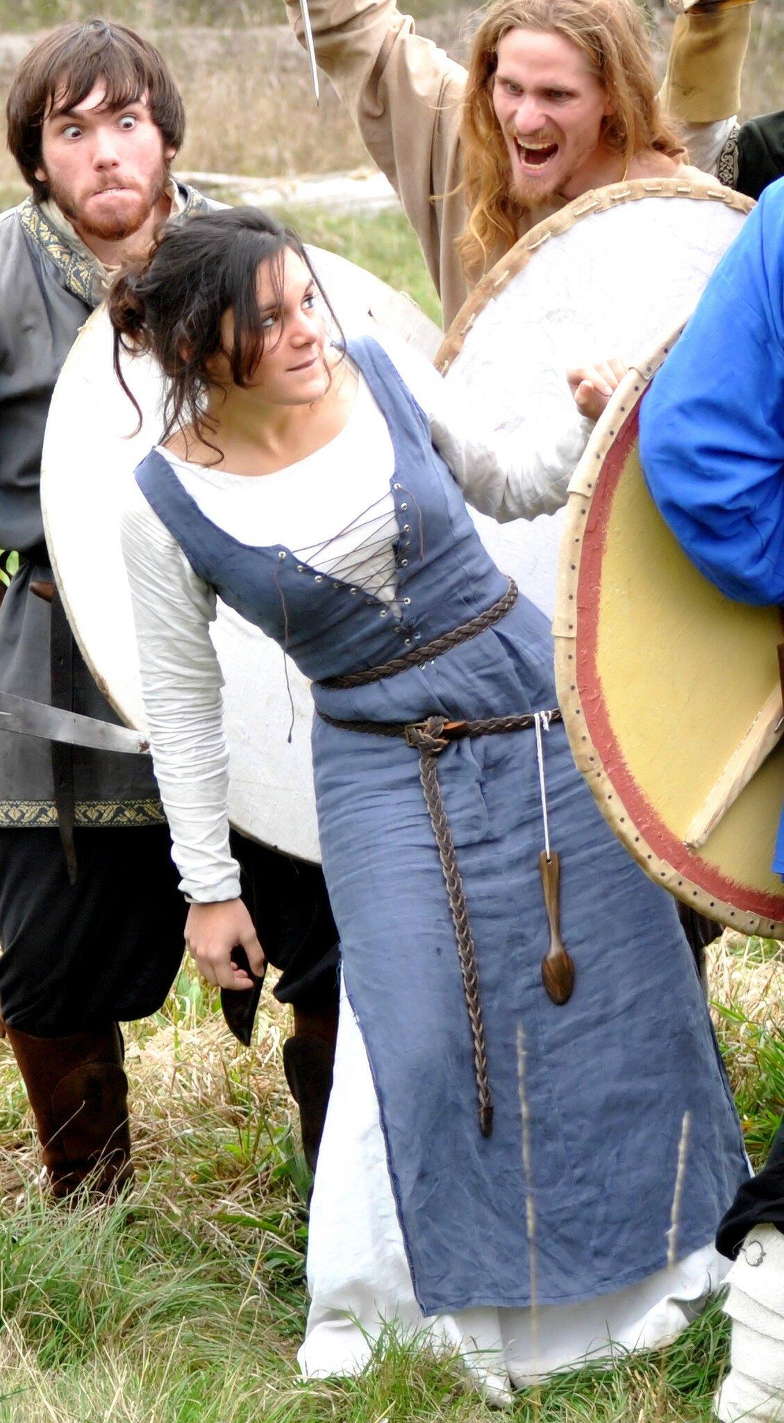 Robe inspiration viking