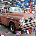 Chevrolet apache 31 2door pick-up dépanneuse martin 1957