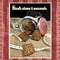 Biscuits sésame & muscovado