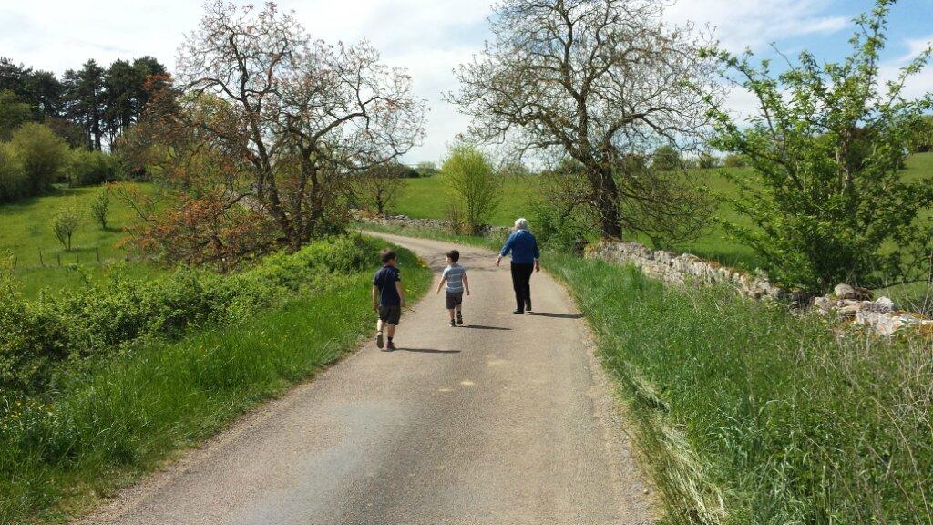 Promenade avec Bonne Maman