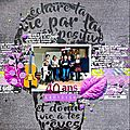[ les 40 ans de laetitia ] - sketch#345 just create and scrap