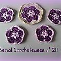 Serial crocheteuses n° 211 : be happy !!!