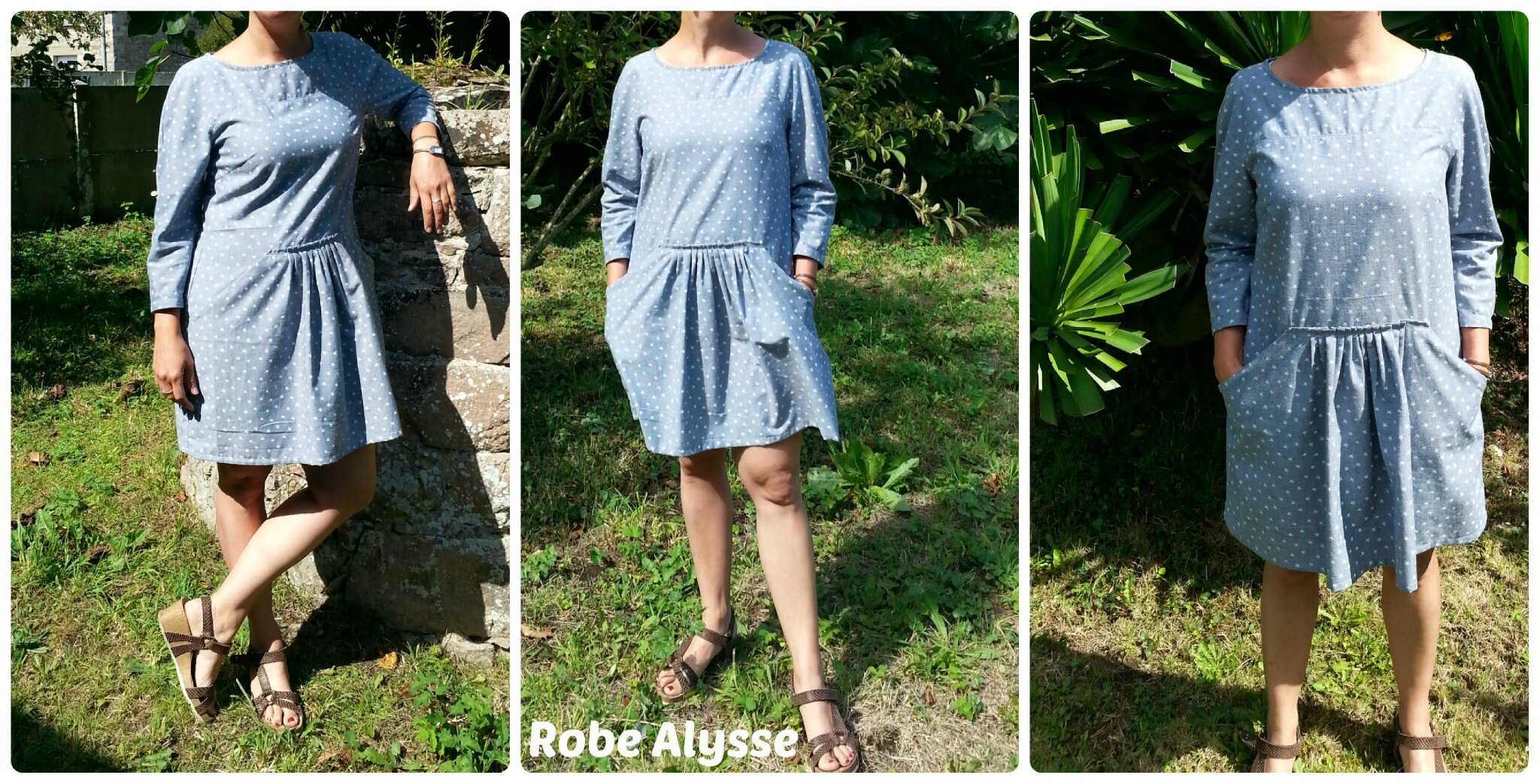 Robe Alysse Number Two en Chambray