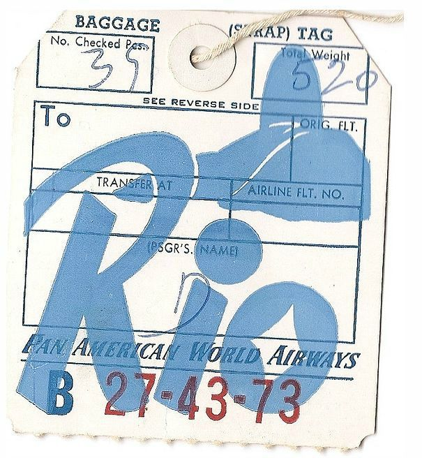 pan am tag