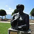 Montreux, statue d'Ela Fitzgerald (Suisse)