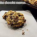 Cookies chocolat marron
