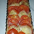 Tarte tomate/mozza/thon