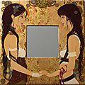 Jumelles steampunk, 50x50,2014