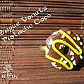 bague donuts Pistche Coco