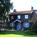 Nida, maison (Lituanie)