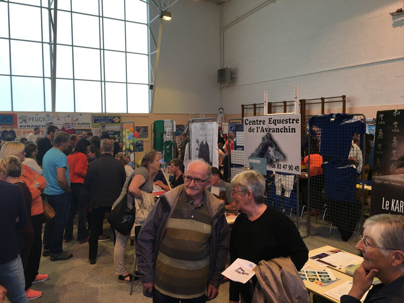 forum des associations Avranches 2016 salle Duchesnay