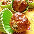 Minis cakes aux olives vertes