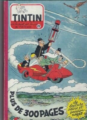 1954 - M. Tric a les honneurs de la reliure éditeur