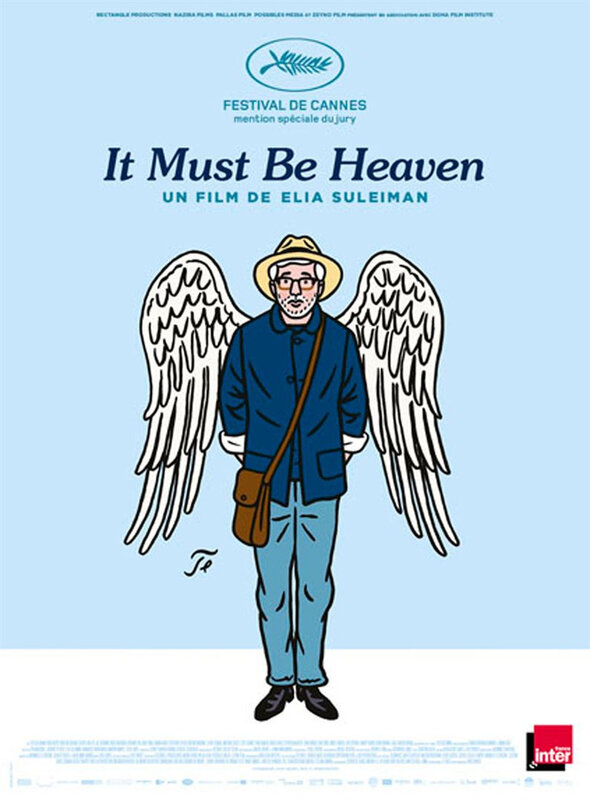 It Must Be Heaven affiche