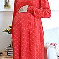 #garde robe de grossesse : une oxanne
