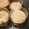 Verrines poire-chocolat