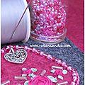 La vie en rose pour les rubans et les perles