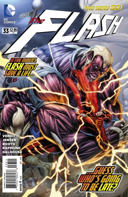 new 52 flash 33