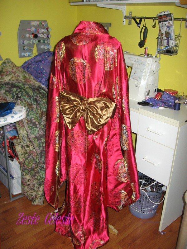 Le kimono de dos