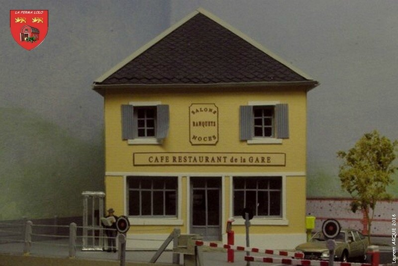 Café restaurant de la gare 2016