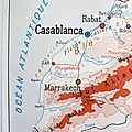 Collection ... carte afrique du nord / maroc