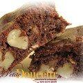 Brownies sans sucre ajouté (adapté de la recette de katharine hepburn)