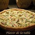 Quiche courgette-ricotta