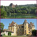 Le chateau de lanquais (24 dordogne)