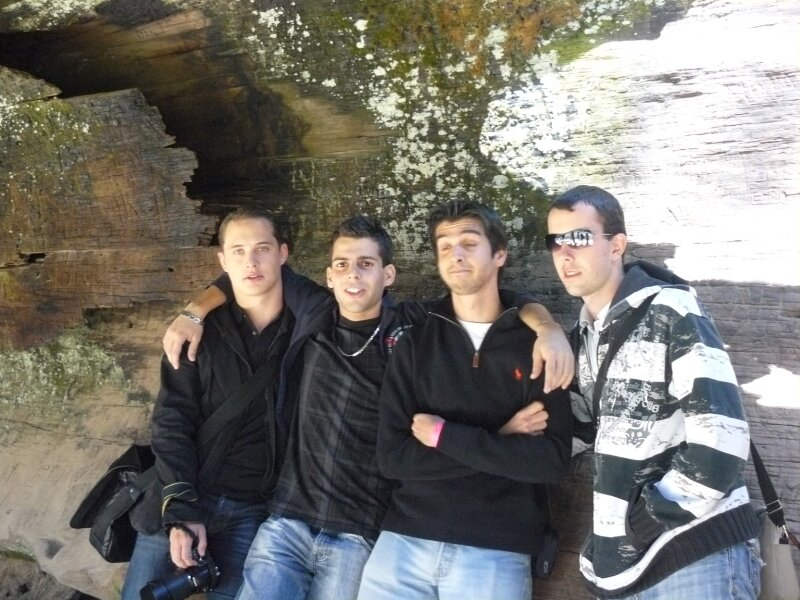 Giant Forest : Benjamin, Baris, Bruno, Xavier