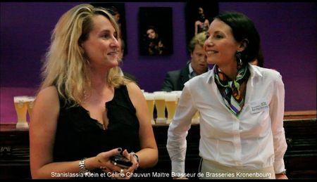 Stanislassia Klein et Céline Chauvin Maître Brasseur de Brasseries Kronenbourg