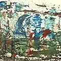 27 - Acrylique sur papier marouflé sur toile - 65 x 50 cm