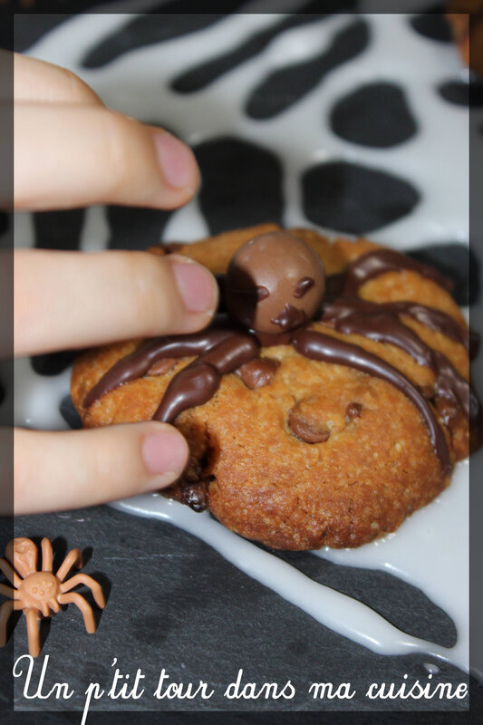 Cookies araignées 2