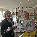 Annick Godard et Eleanor Lothela
