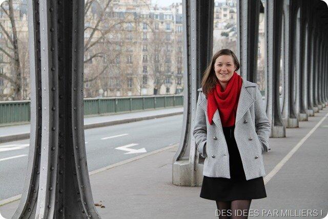 Le manteau Saint Michel – Le défi : 4 filles, 1 tissu