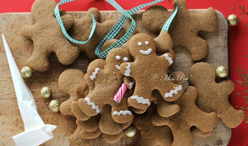 Gingerbread bonhomme misspat