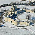 Chateau Hardelot sous la neige