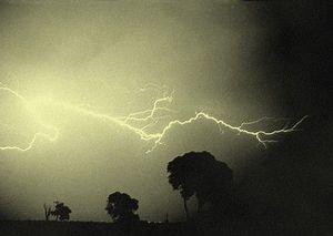 orage d'été