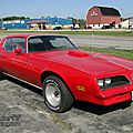 Pontiac firebird coupe 1977-1978
